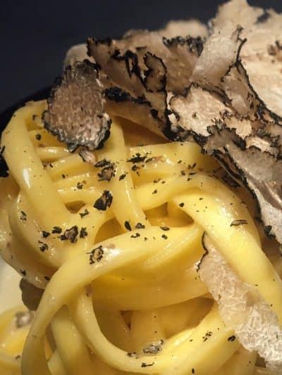 Pasta med tryffel